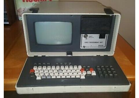 Texas Instruments VPU200 Video Programming Unit For Parts, vintage computer